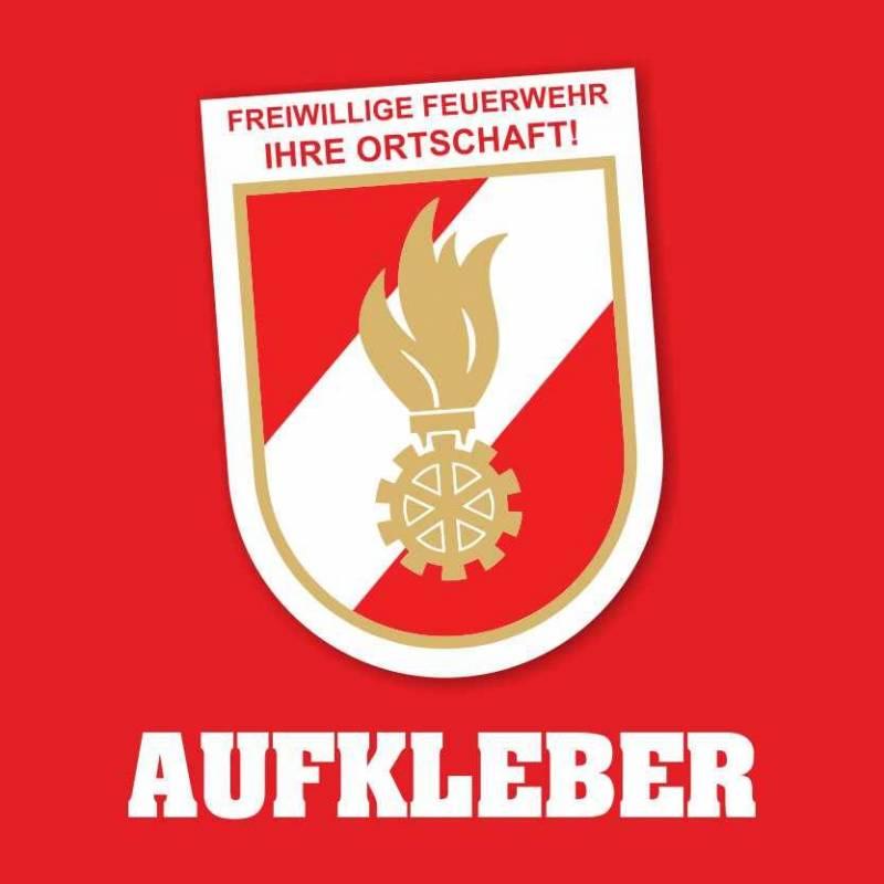 """Aufkleber """"Wappen Feuerwehr"""""""