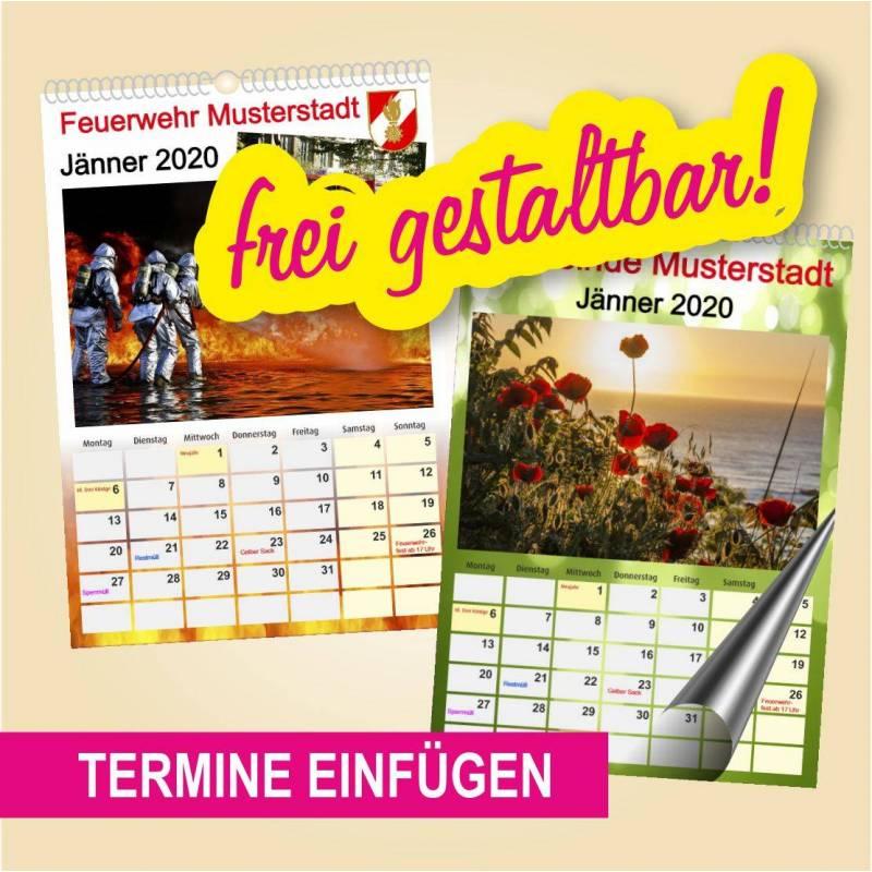 Spiralkalender A4 hoch 13 Blatt  *2020*