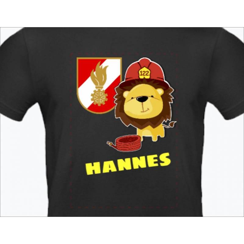 Feuerwehrshirt Kindershirt Feuerwehrwappen Korpsabzeichen