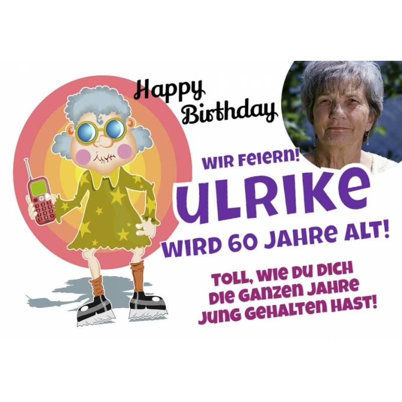 Geburtstagsbanner online bestellen Transparente Partybanner Oma