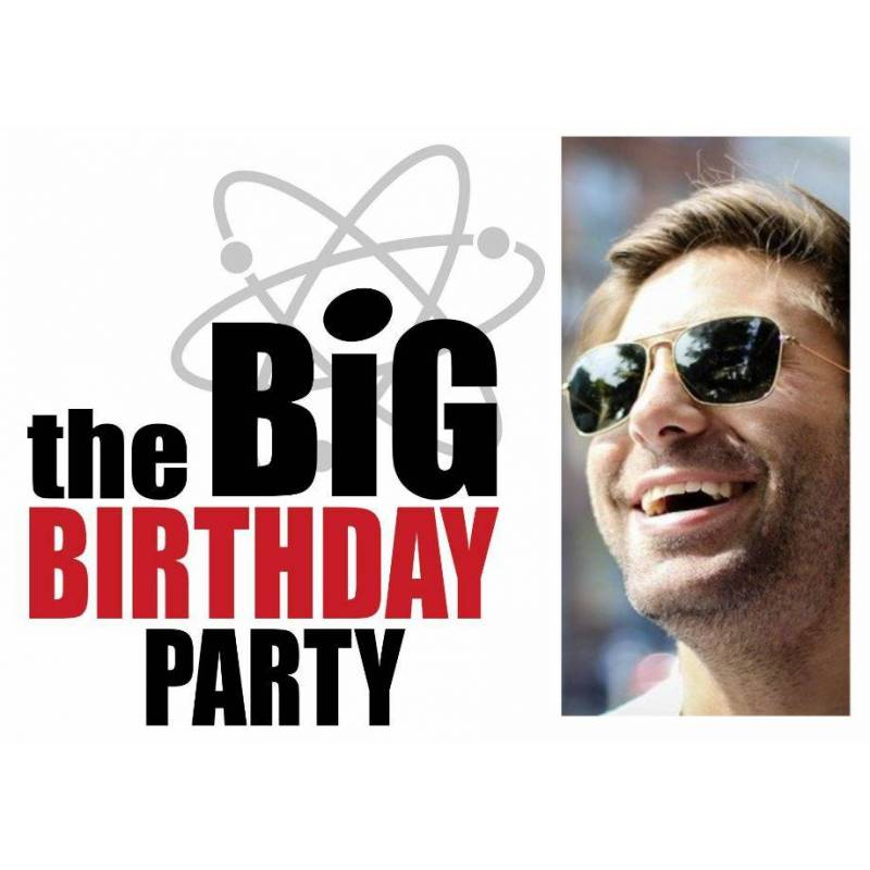 Geburtstagsbanner online bestellen Transparente Partybanner Big Bang Theory