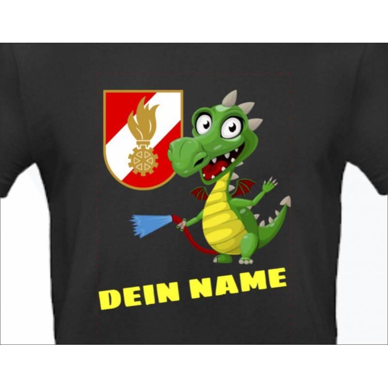 Kindershirt Feuerwehrshirt online bestellen Korpsabzeichen T-shirt für Kinder