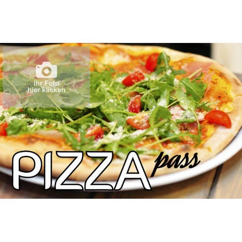 Pizzapass Bonuskarte Bonuspass Sammelpass Bierpass Stempelpass Treuepass