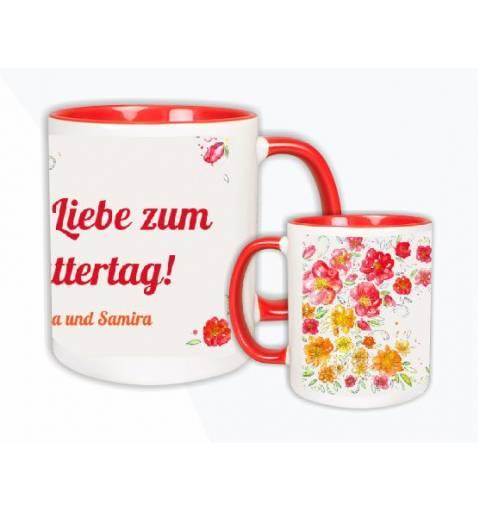 Tasse Häferl bedrucken Text Foto personalisiert Muttertag Frau Mutter Mama Oma Freundin Frau