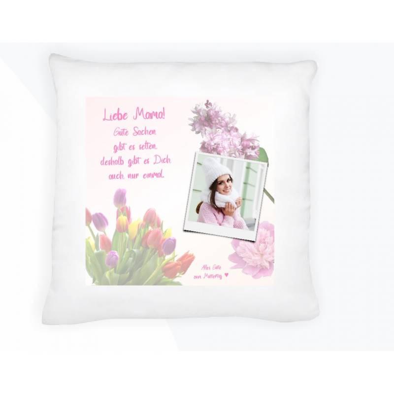 Kissen Polster Geschenk personalisiert gestalten Mutter Oma Frau Freundin Liebe