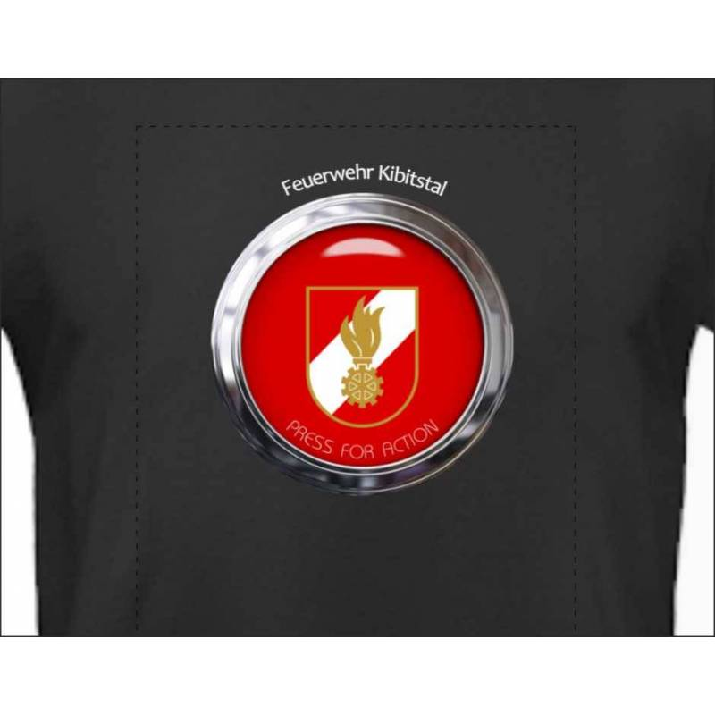 Feuerwehrshirts T-shirt Feuerwehr Feuerwehrwappen personalisiert