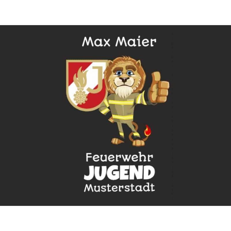Feuerwehrshirt Tshirt Feuerwehr T-Shirt Feuerwehrjugend Jugendfeuerwehr personalisiert