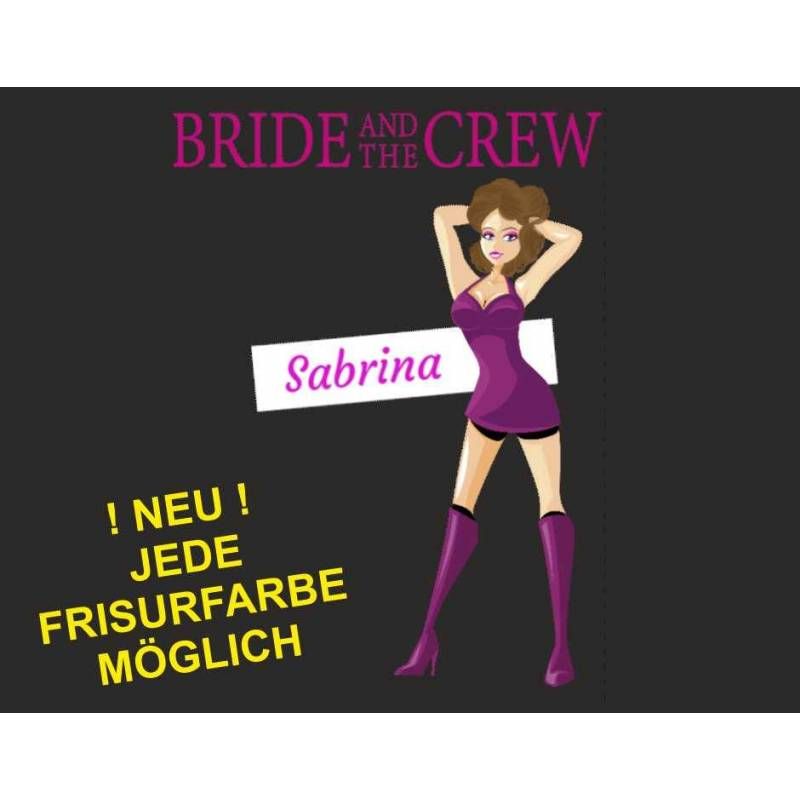 "Poltershirt ""Bride and the Crew"""