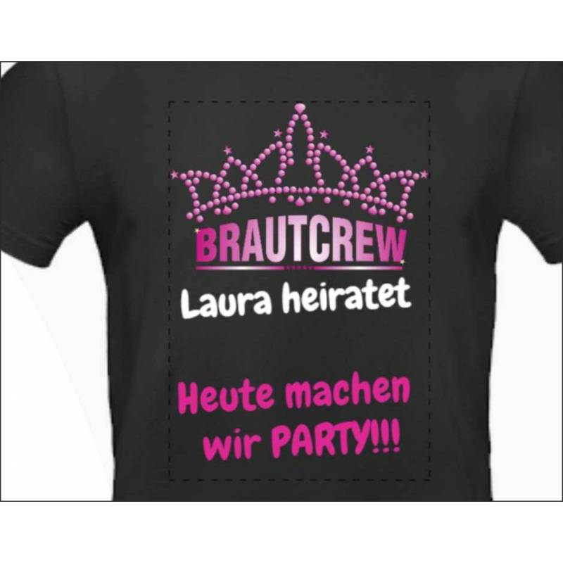 "Poltershirt ""Pink Party"""