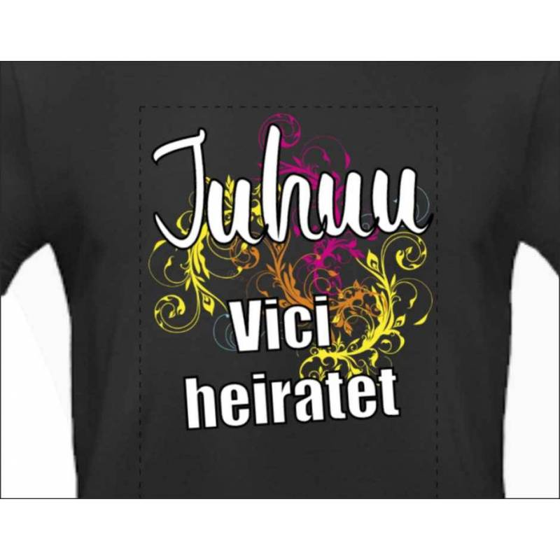 Poltershirt Junggesellenabschied Junggesellinnenabschied Poltershirts T-Shirts für Polterabend Mädchenabend Männerabend