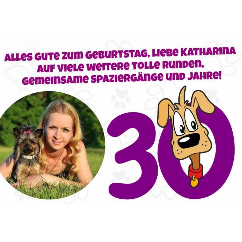 """Geburtstagsbanner """"Hund"""""""