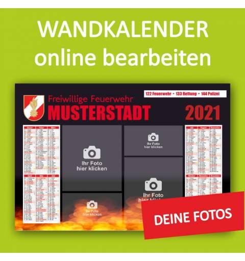 Wandkalender, Feuerwehrkalender, Sportvereinkalender