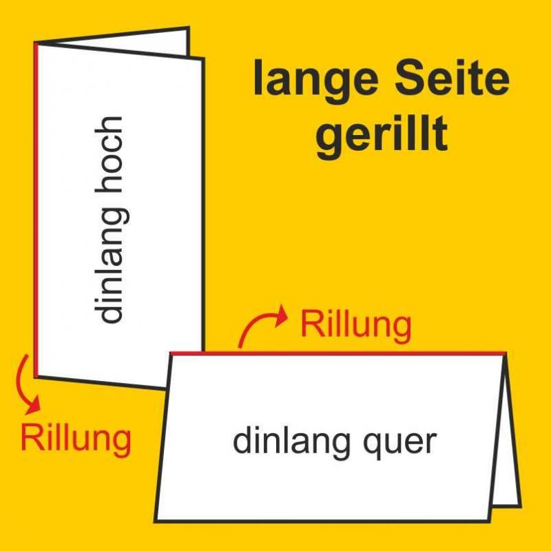 Rillung lange Seite
