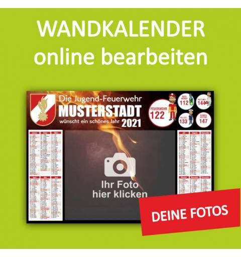 Feuerwehrkalender, Feuerwehrjugend, Wandkalender für Feuerwehr
