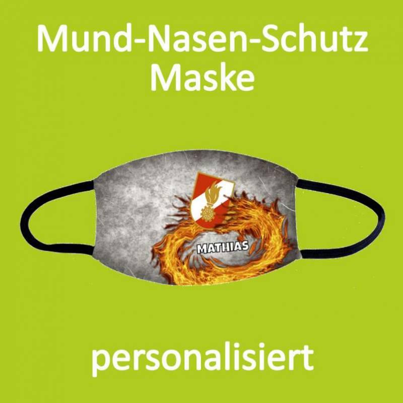 Gesichtsmaske Feuerwehr, Mundnasenschutz, Feuerwehrmaske