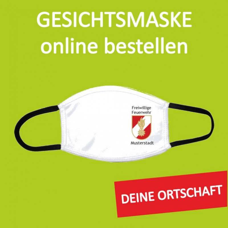Gesichtsmaske, Feuerwehrmaske, Maske für Feuerwehr, Mundschutz,