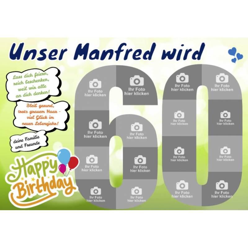 Geburtstagsbanner, Lustige Geburtstagsbanner, Plakat Geburtstag