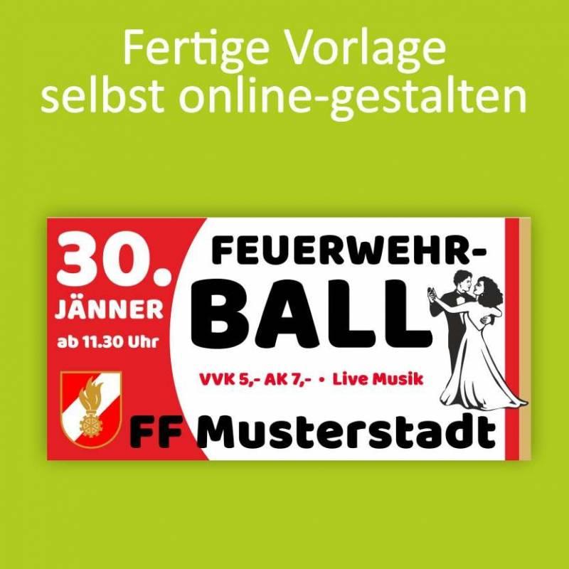 """Banner """"Feuerwehr Ball..."""