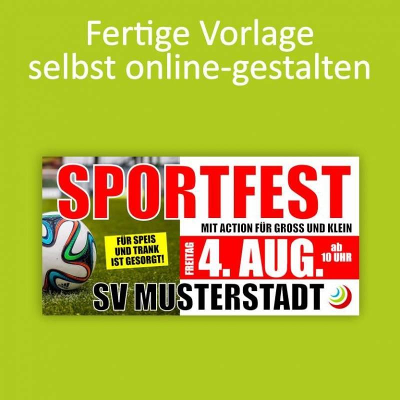 "Banner ""Sportfest"" 2x1m"