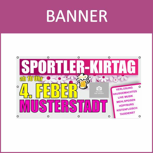 Banner online bestellen