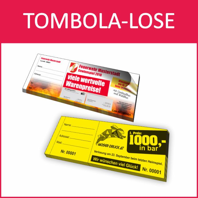 Tombolalose online bestellen