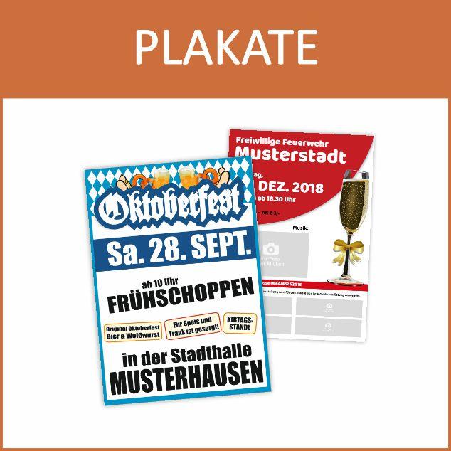 Plakate online bestellen